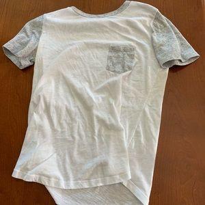 White Victoria secret shirt sleeve